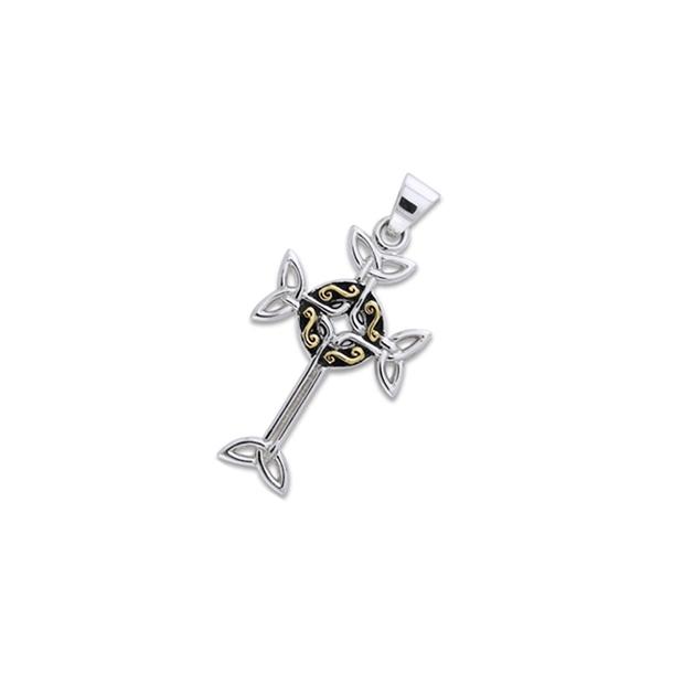 Keltisk Kors - 40mm - u/kæde