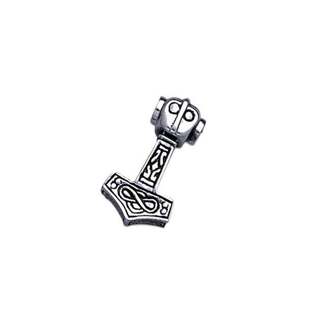 Thors Hammer smykke vedhæng - 23mm - u/kæde