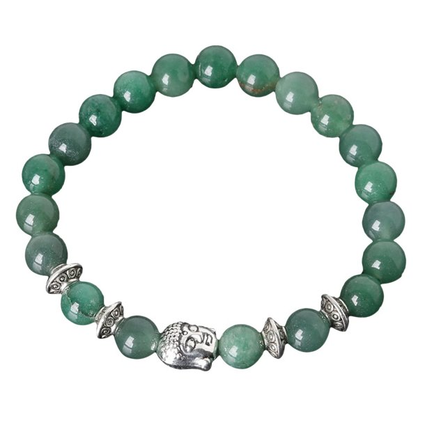 Buddha armbånd - Lykkearmbånd - Aventurin