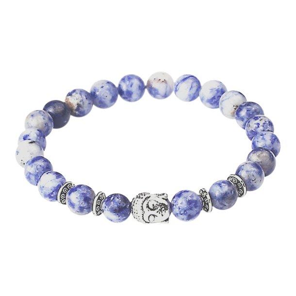 Buddha armbånd - Lykkearmbånd - Sodalit